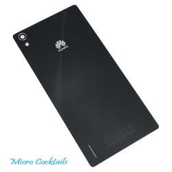 Vitre Arrère Huawei Ascend P7 Noire