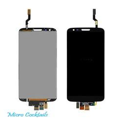 Vitre Tactile Ecran LCD pour LG G2 D802 bloc complet noir