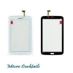 "Vitre Tactile Blanche Samsung Galaxy Tab 3 7"" WiFi T210 avec autocollant"