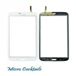 "Vitre Tactile Blanche T310(Samsung Galaxy Tab 3 8"" WiFi)"