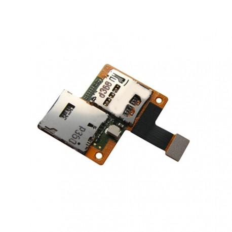 Htc Desire 601 Nappe lecteur carte sim et micro sd