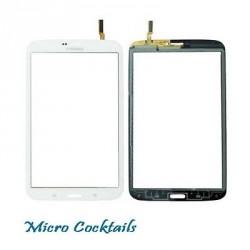 """Vitre Tactile (autocollant pré-installé) Blanche (Samsung Galaxy Tab 3 8"""" WiFi)"""