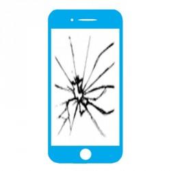 Réparation écran cassé (vitre + lcd) Iphone 5c