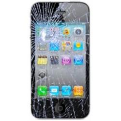 Réparation écran cassé (vitre + lcd) Iphone 4s