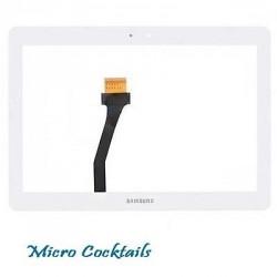 Vitre Tactile (Samsung Galaxy Tab 2 10.1 P5100/P5110) Blanche
