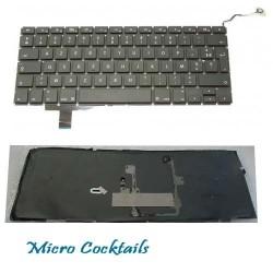 """Clavier (Français) AZERTY (MacBook Pro 17"""" Unibody A1297)"""