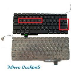 "Clavier (Américain) QWERTY (Macbook Pro Unibody 17"" A1297)"