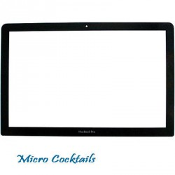 "Vitre MacBook Pro Unibody 15"" A1286"