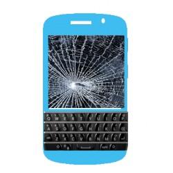 Réparation écran cassé (vitre + lcd) Blackberry Q10