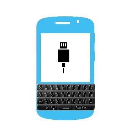 Réparation Connecteur charge micro usb Blackberry Q10