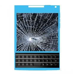 Réparation écran cassé (vitre + lcd) Blackberry PASSEPORT Q30