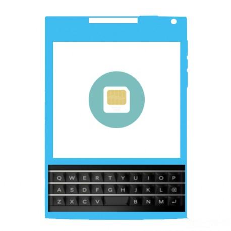 Réparation Lecteur de Carte Sim Blackberry PASSEPORT Q30