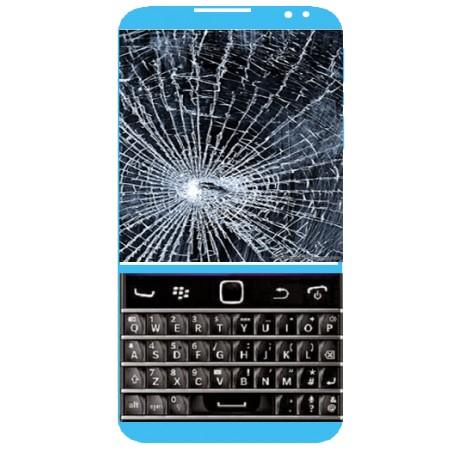 Réparation écran cassé (vitre + lcd) Blackberry classic Q20