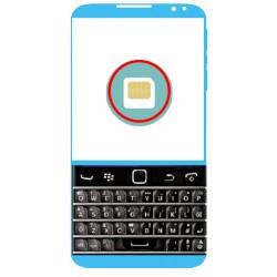 Réparation Lecteur de Carte Sim  Blackberry classic Q20
