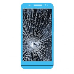 Réparation écran cassé (vitre + lcd) Blackberry Z30