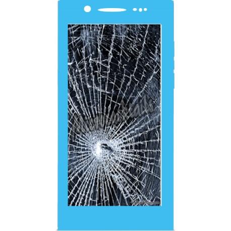 Réparation écran cassé (vitre + lcd) Blackberry LEAP