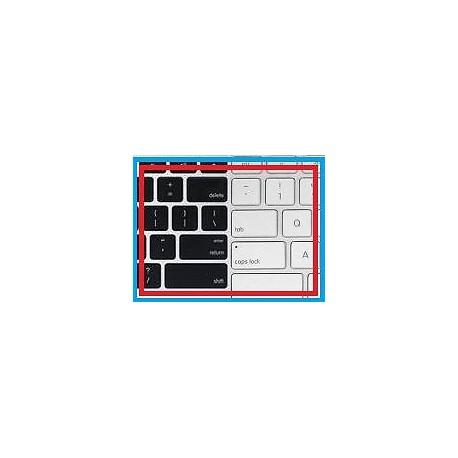 """Touche de remplacement blanche pour Clavier (MacBook Pro Unibody 13"""" A1278)"""