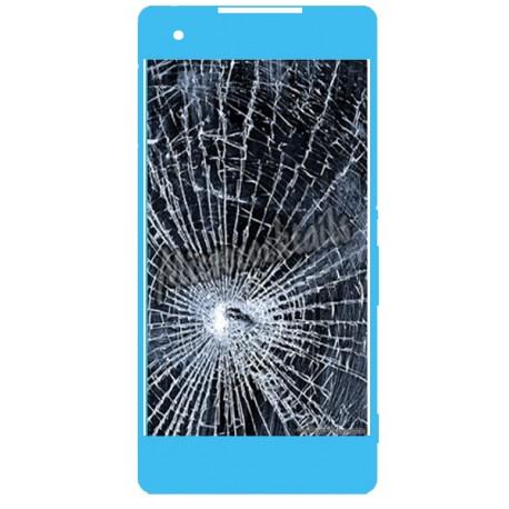 Réparation écran cassé (vitre + lcd) Sony Xperia M4 aqua