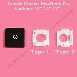 """Touche """"Q"""" de remplacement (MacBook Pro Unibody)"""