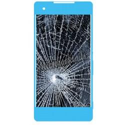 Réparation écran cassé (vitre + lcd) Sony Xperia M5 aqua