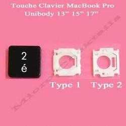 """Touche """"2 é"""" de remplacement (MacBook Pro Unibody)"""