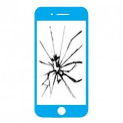 Réparation écran cassé (vitre + lcd) Iphone 6s plus