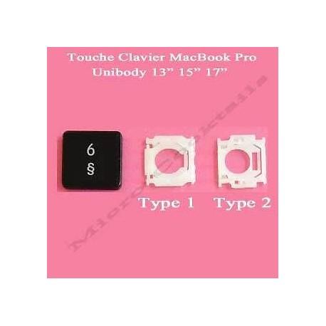 """Touche """"6 £"""" de remplacement (MacBook Pro Unibody)"""