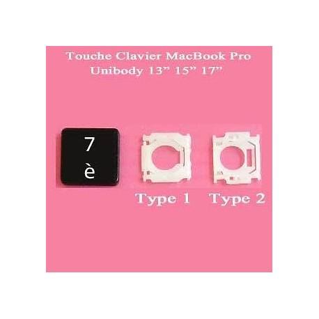 """Touche """"7 è"""" de remplacement (MacBook Pro Unibody)"""