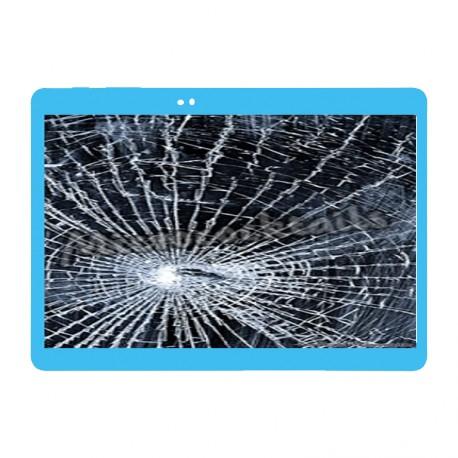 Réparation écran cassé (vitre + lcd) Samsung Galaxy Note p600 10'