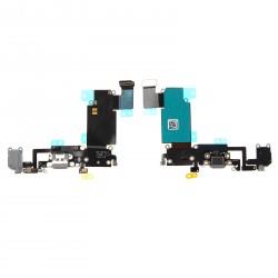 Nappe Dock Connecteur charge lightning /micro/jack IPhone 6S Plus Gris
