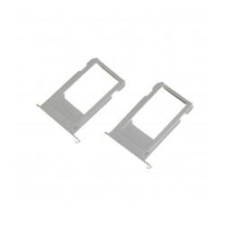 Tiroir SIM iPhone 6S Plus Argent