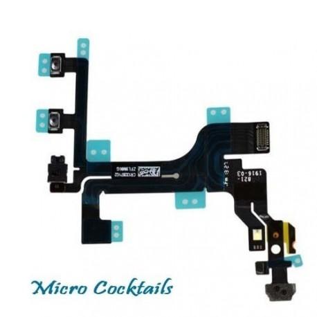Nappe Power on/off mise en veille Volume et Vibreur iPhone 5C