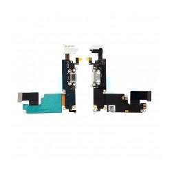 Nappe Dock Connecteur charge lightning /micro/jack IPhone 6 Plus Blanc