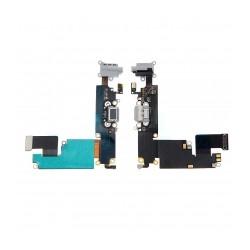 Nappe Dock Connecteur charge lightning /micro/jack IPhone 6 Plus Noir