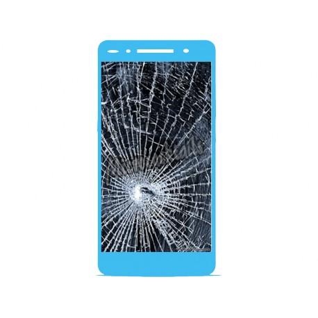 Réparation écran cassé (vitre + lcd) Huawei P7