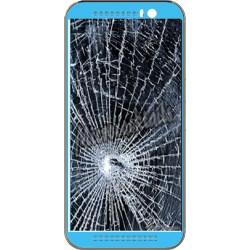 Réparation écran cassé (vitre + lcd) HTC ONE M7