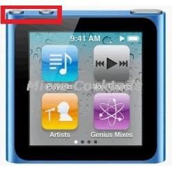 Réparation Nappe Bouton Volume iPod Nano 6