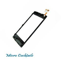 Vitre Tactile Nokia Lumia 520 Noir avec Chassis