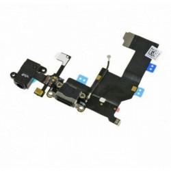 Nappe Connecteur Charge Prise jack Micro iPhone 5 Noir