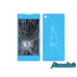 Réparation pack écran cassé (vitre -lcd) et vitre arrière cassé Sony Xperia Z3 compact