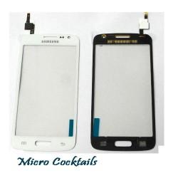 Vitre Tactile pour Samsung Galaxy Express 2 G3815 Blanche avec autocollant