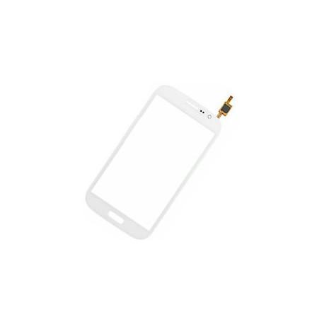 Vitre Tactile Samsung Galaxy Grand ou duos i9082 blanche autocollant adhésif