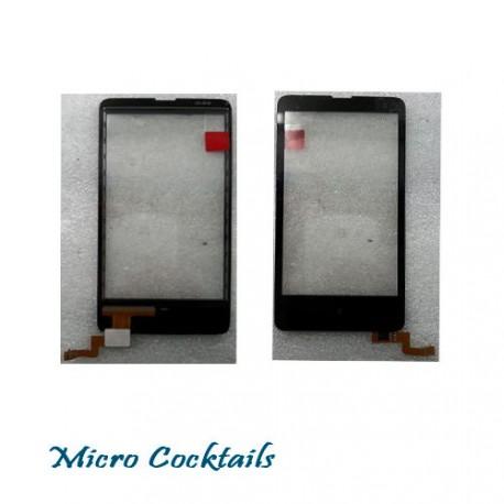 Vitre Tactile pour Nokia X façade en verre