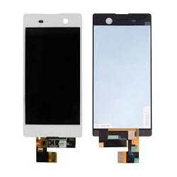 écran complet xpéria M5 blanc