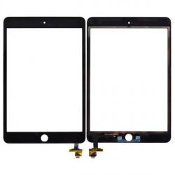 vitre tactile iPad mini 3 noir