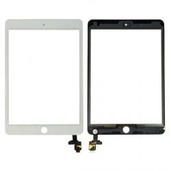 vitre tactile iPad mini 3 blanche