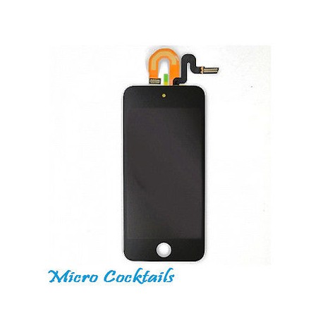 Vitre Tactile Ecran LCD avec Chassis pour iPod Touch 5 Complet
