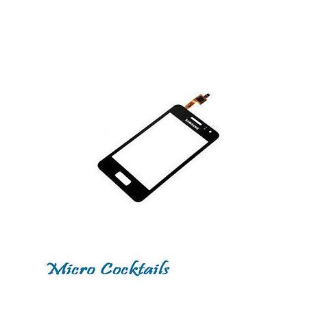 Vitre Tactile pour Samsung Galaxy Wave M S7250 avec autocollant préinstallé