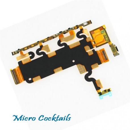 Nappe volume power on off pour sony xpéria Z1 L39H