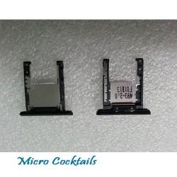 Tirroir carte memoire micro sd pour Nokia Lumia 1520 noir